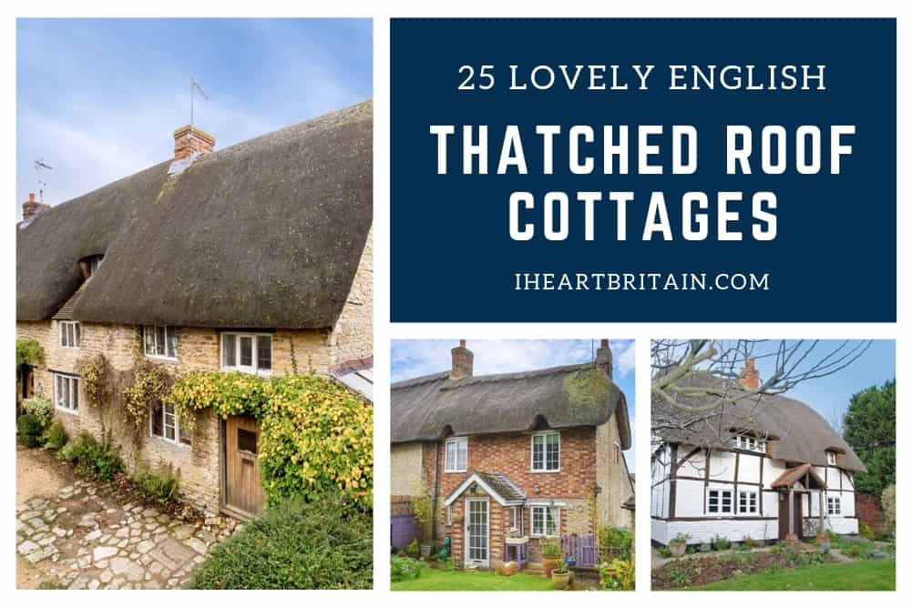 English Thatched Roof Cottages