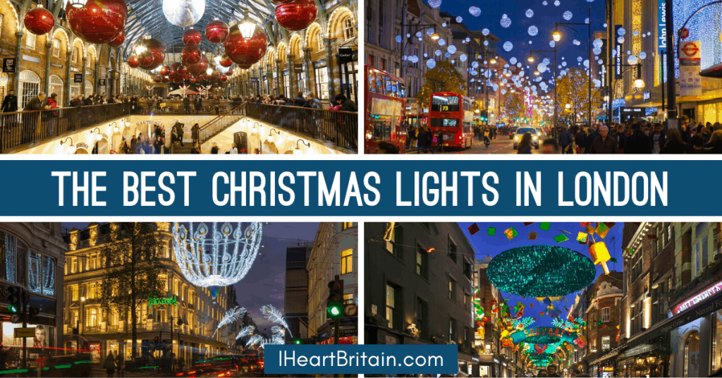 The Best Places to See Christmas Lights in London
