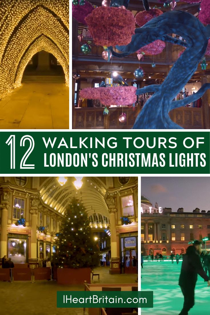 London Christmas Lights Tours