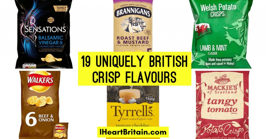 interesting british crisp flavours