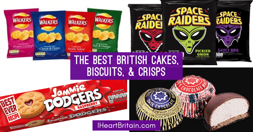 best snacks from england uk