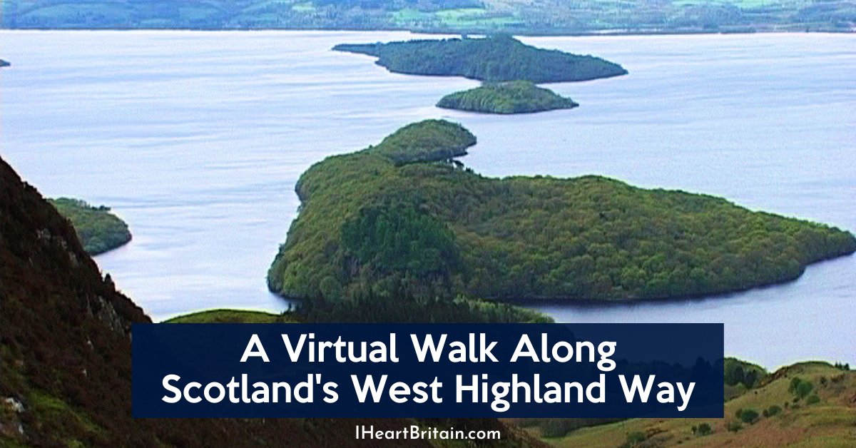 hiking the west highland way in scotland